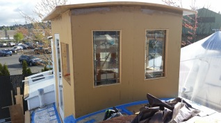 Sunroom in progress